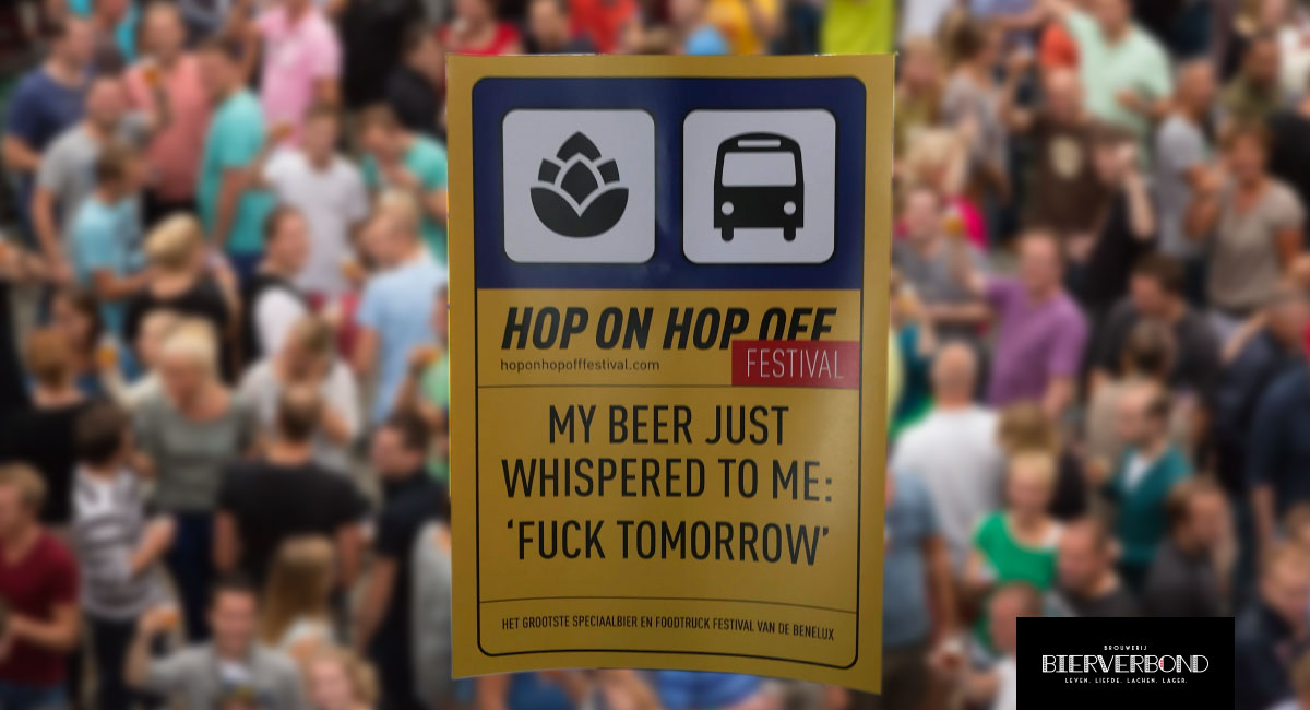 Hop On Hop Off Festival Kunstijsbaan Breda - The largest specialty beer and food truck festival in the Benelux