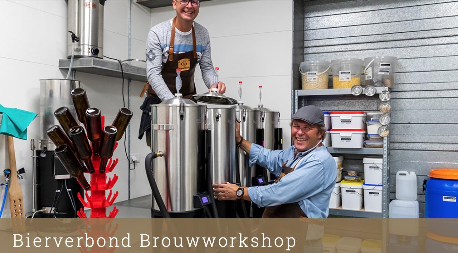 Brouwworkshop bij Brouwerij Bierverbond