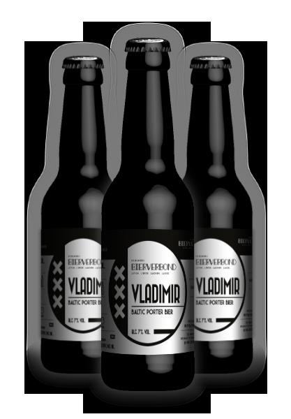 Vladimir Baltic Porter bier van Brouwerij Bierverbond Amsterdam