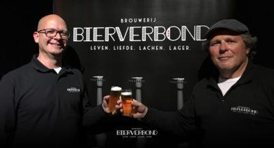 Brouwerij Bierverbond Amsterdam tijdens het Oorzakenfestival in de Brakke Grond in Amsterdam