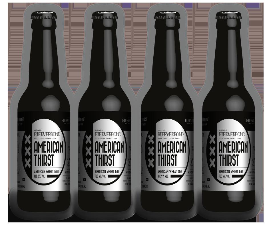 American Thirst - Amerikanisches Weizenbier der Brauerei Bierverbond Amsterdam
