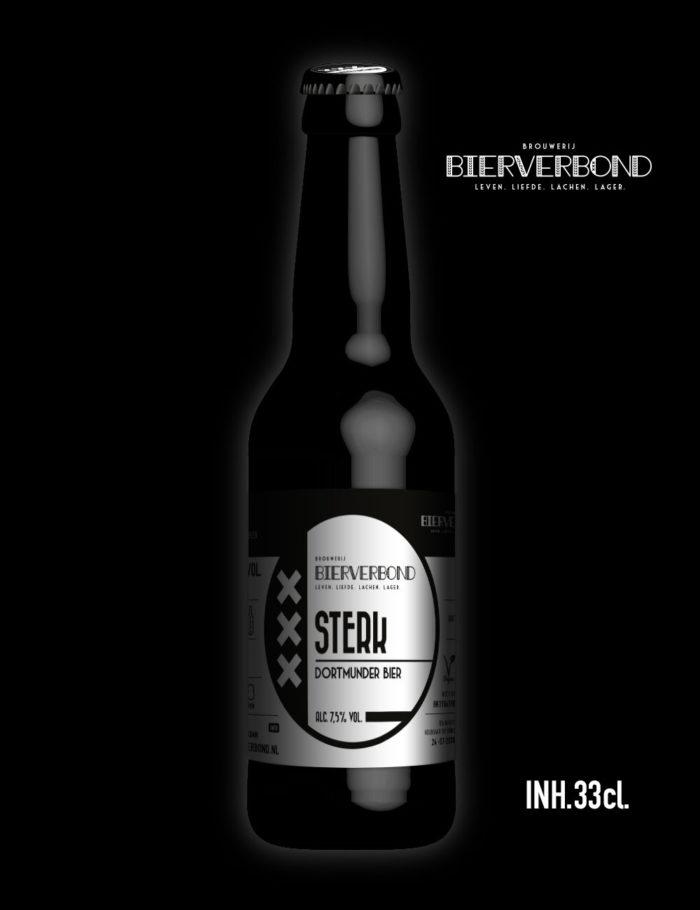 Sterk - Dortmunder bier van Brouwerij Bierverbond Amsterdam