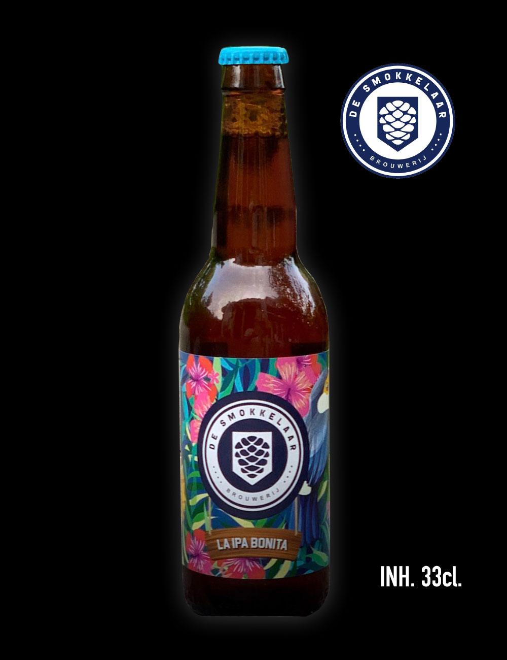 La IPA Bonita van Brouwerij de Smokkelaar