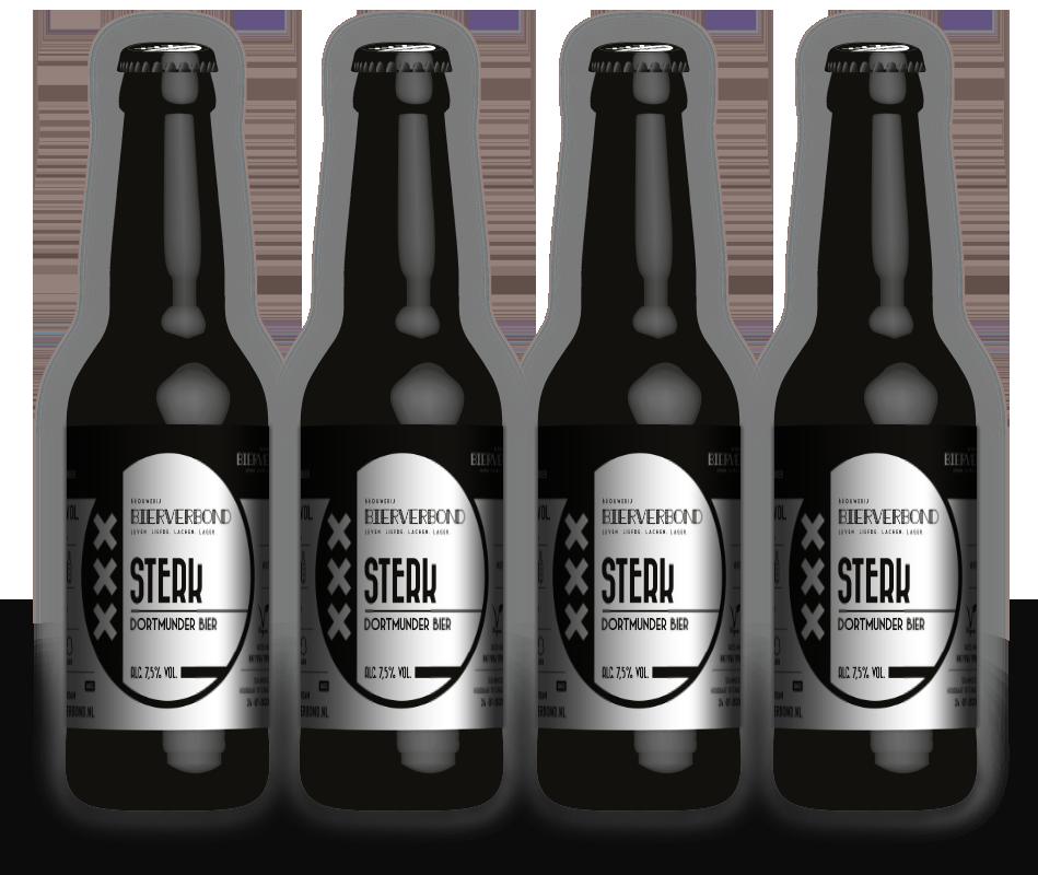 Stark - Dortmunder Bier von Brouwerij Bierverbond Amsterdam