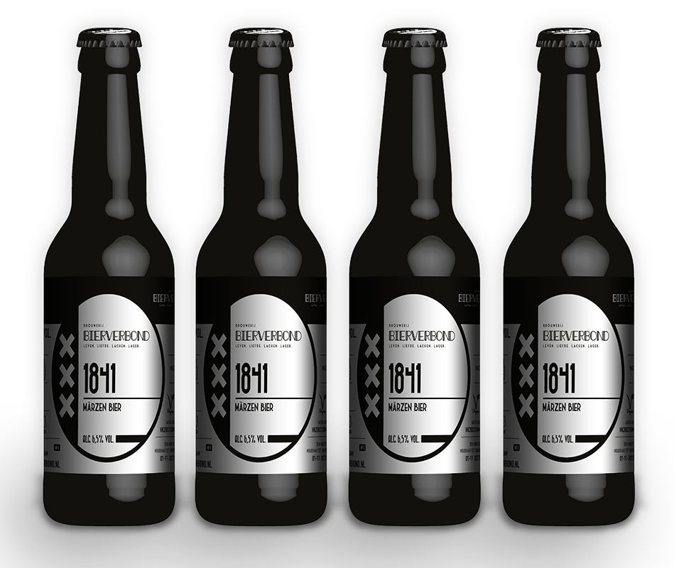 1841, Marzen Bier der Brauerei Bierverbond Amsterdam