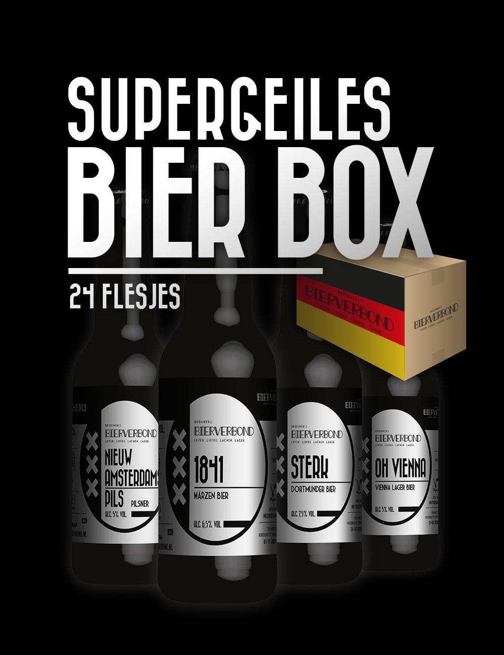 Supergeiles Bier Box (gratis verzonden)