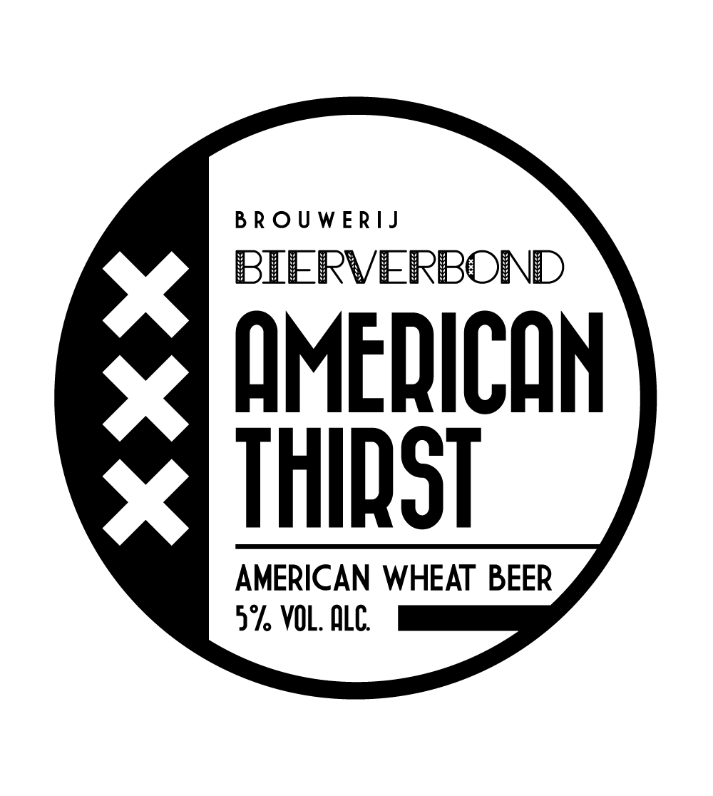 American Thirst Tapruiter of Brouwerij Bierverbond Amsterdam
