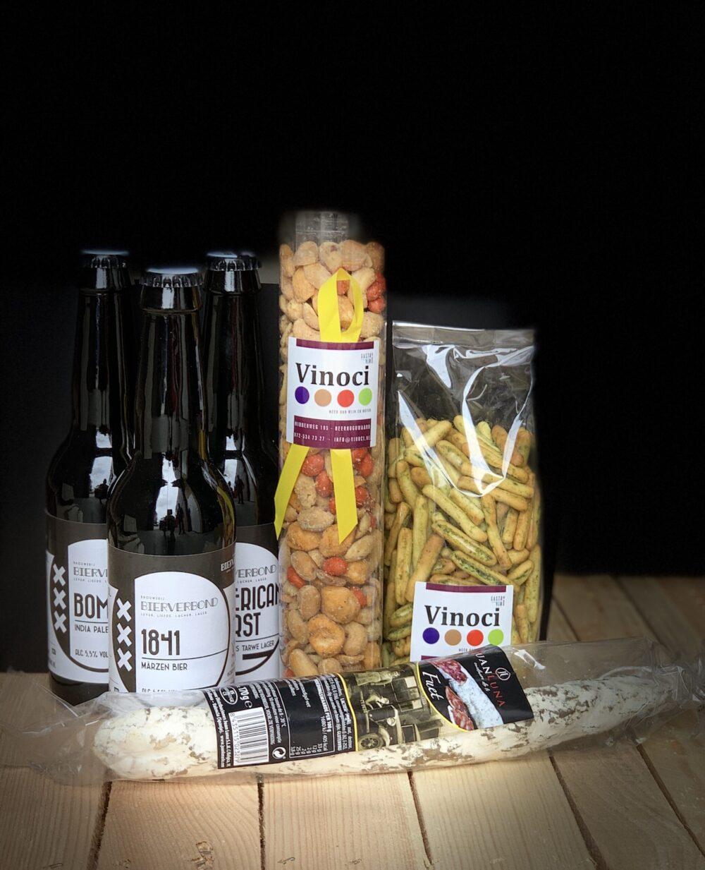 vrijmibo box bij Brouwerij Bierverbond Amsterdam