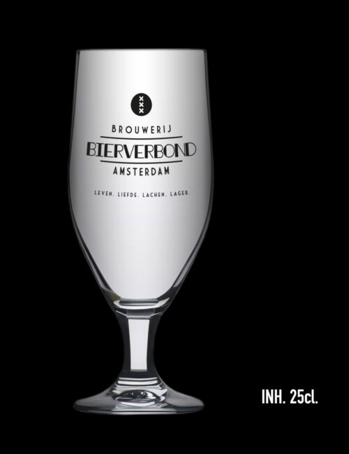 Glas Aviero 25 cl. van Brouwerij Bierverbond Amsterdam